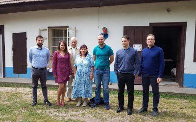 Egyeztetés az Ipolyszalkai Tájház bővítéséről
