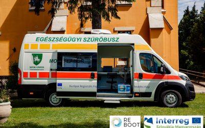 Egészségügyi szűrőbusz a határmenti térségben